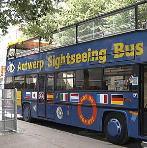 naar antwerpen met de bus