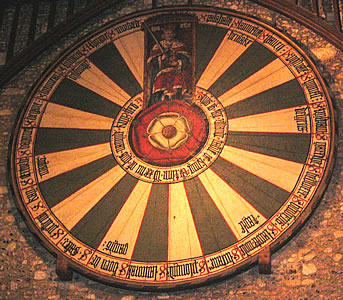 King Arthur 39 S Round Table In The Great Hall
