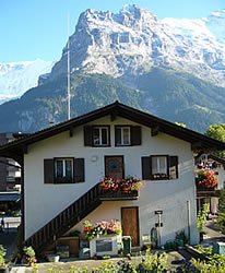Swiss Mountain House grindelwald: tourist information for the jungfrau region of